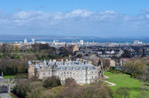 Holyrood Palace and Abbey in Edinburgh, Scotland — Stock Photo