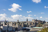 Skyline of Edinburgh, Scotland — Stock Photo