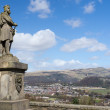 Robert the Bruce statue in Stirling, Scotland — Stock Photo