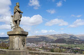 Robert the Bruce statue in Stirling, Scotland — Stockfoto