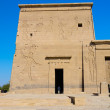 Second Pylon of Philae Temple of Isis, Egypt — Stock Photo