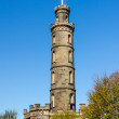 Nelson Monument in Edinburgh, Scotland — Stock Photo