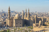 Mosque-Madrassa of Sultan Hassan in Cairo, Egypt — Stock Photo
