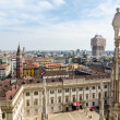 Skyline of Milan, Italy — Stock Photo