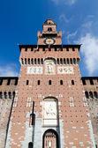 Sforza Castle in Milan, Italy — Stock Photo
