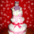 Stock Photo: Diaper cake