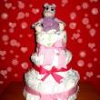 Diaper cake — Stock Photo #20727323