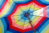 Colourful umbrella — Stock Photo
