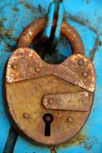 Closed padlock — Foto de Stock