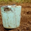 Stock Photo: Broken bucket