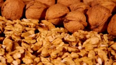Walnuts — Vídeo Stock