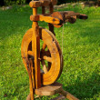 A spinning wheel — Stock Photo