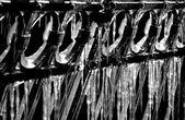Frozen icicles — Stock Photo