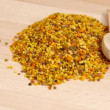 Dried bee pollen — Stock Video #39792191