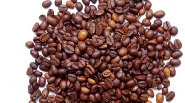 Coffee beans — Stok video