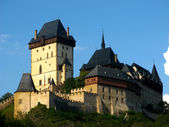 Gothic Karlstejn Castle near Prague, Czech Republic — Stock Photo