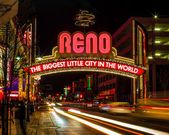 Reno Sign — Stock Photo