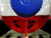 Contenitore in laboratorio biotech — Stock Photo