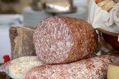 Tuscan salami — Stock Photo