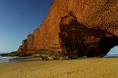 Legzira strand in marokko — Stockfoto