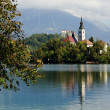 Bled in Slovenia - Stock Photo