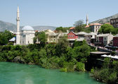 Mostar view, Bosnia — Stock Photo