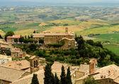 Montalcino in Tuscany, Italy — Stock Photo