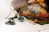 Trabajos de tapicería — Foto de Stock