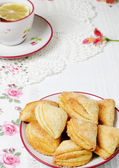Cottage cheese cookies — Stock Photo