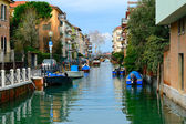 Canal in Lido — Stock Photo