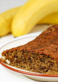 Banana Cake — Stock Photo