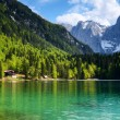 Lago di Fusine, Italy - Stock Photo