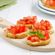 Italisnack, bruschetta — Stock Photo #27499671