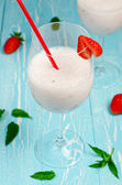 Strawberry milk shake — Stock Photo