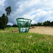 Golf balls in basket — Stock Photo #28359319