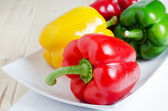 Fresh colorful pepper — Stock Photo