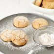 Stock Photo: Polvorones, spanish shortbread
