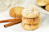 Polvorones, spanish shortbread — Stock Photo