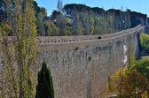 City wall of Girona, Spain — Stock Photo
