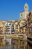 Girona, spanien — Stockfoto