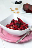 Salad with red beet — Foto de Stock