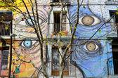 Graffiti in Barcelona — Stock Photo