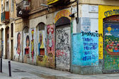 El Raval district of Barcelona — Stock Photo