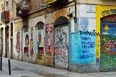 El Raval district of Barcelona — Stock Photo