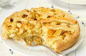 Cabbage pie — Stock Photo