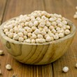 Heap of raw chickpeas — Stock Photo #39377475