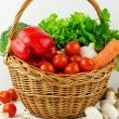 Basket of Various Vegetables — Stock Photo #39377481
