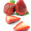 Strawberries, isolated — Stock Photo #39379053