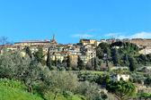 Cortona, Toscana, Itália — Fotografia Stock
