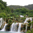 Waterfall KRKA in Croatia — Stock Photo #25721965
